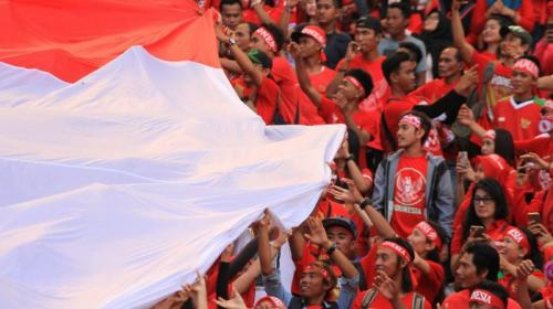 Suporter Timnas Indonesia