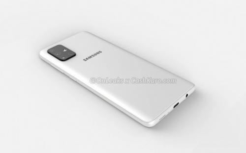 Samsung Galaxy A71 disebut-sebut akan menampilkan layar AMOLED infinity-O 6,7 inci.