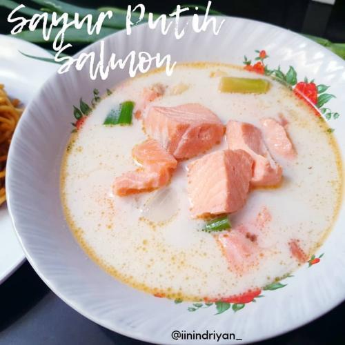 sayur putih salmon