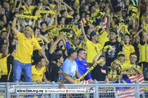 Pendukung Timnas Malaysia