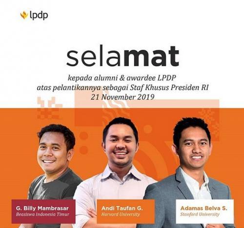 LPDP staf khusus (ig LPDP)