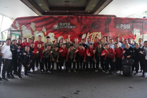 Timnas Indonesia U-22 bertekad mengulangi sejarah emas di Stadion Rizal Memoriam (Foto: PSSI)