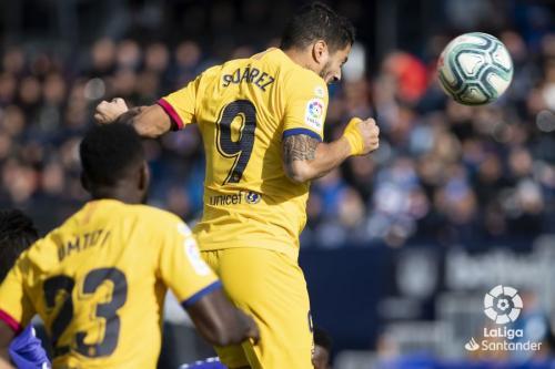 Luis Suarez mengawali kebangkitan Barcelona (Foto: La Liga)