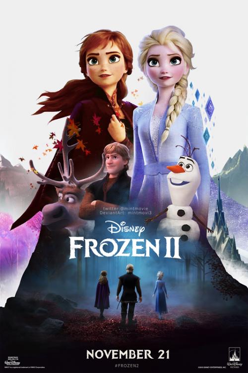 Frozen 2 harus puas duduk di peringkat kedua box office Amerika Utara. (Foto: Disney)