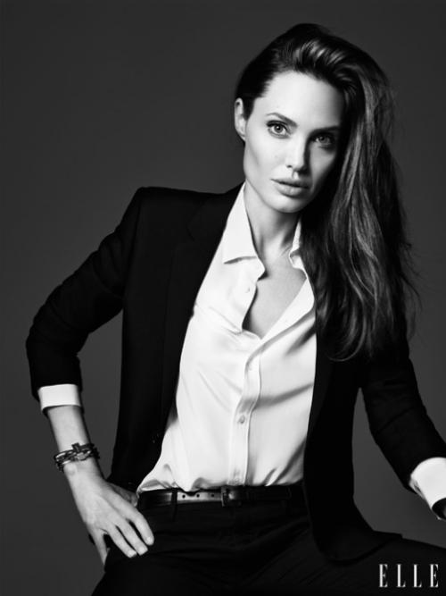 Angelina Jolie. (Foto: ELLE)