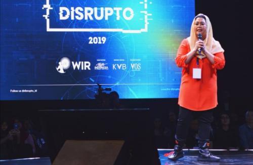 Gus Dur Hadir di Disrupto 2019
