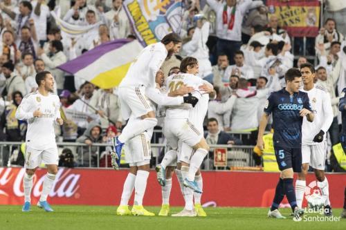 Real Madrid pulangkan Real Sociedad dengan tangan hampa (Foto: Twitter/Real Madrid)