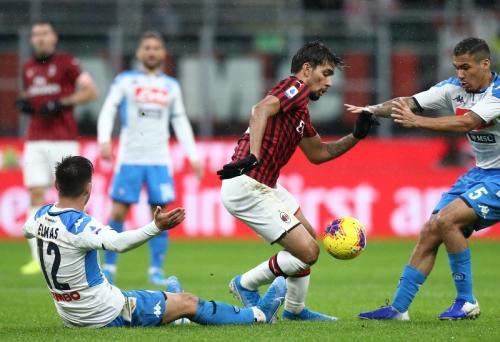 Kedua kesebelasan harus puas berbagi satu angka (Foto: AC Milan)
