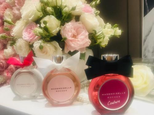 Kamu bisa memilih parfum yang sesuai dengan selera pribadimu.