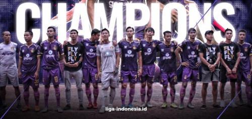 Persik Kediri Juara Liga 2 2019