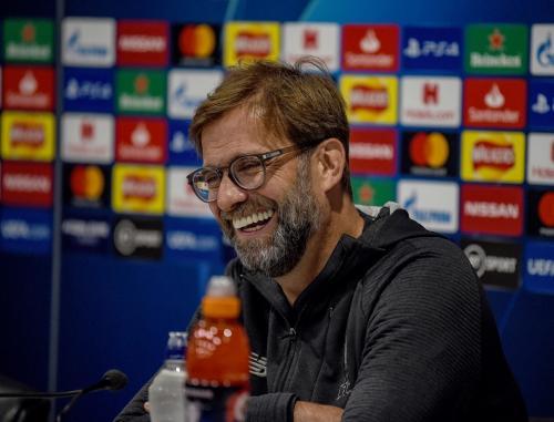 Jurgen Klopp saat di pertandingan Liverpool