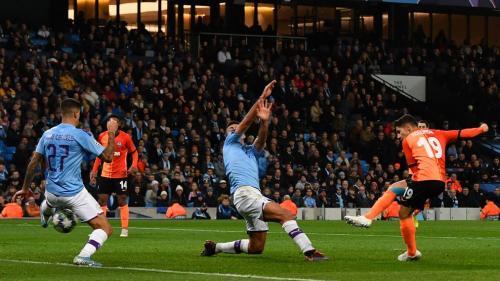 Laga Manchester City vs Shakhtar Donetsk