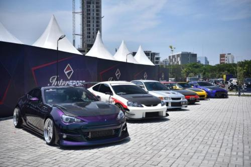 Modifikasi Intersport auto show