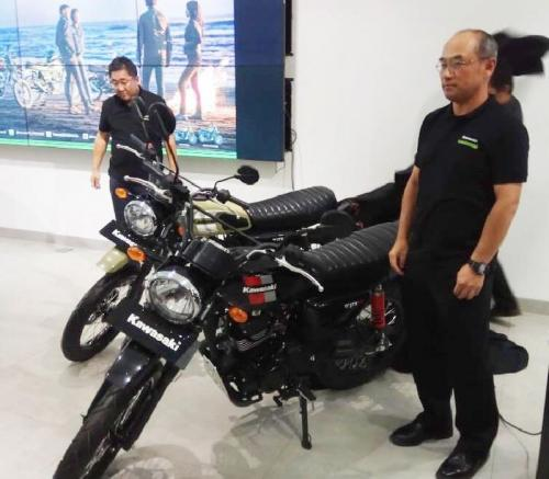 Kawasaki W175TR Scrambler