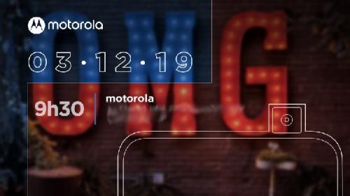 Motorola Bakal Hadirkan Ponsel dengan Pop Up Kamera pada 3 Desember