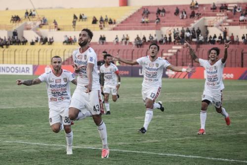 Persija Jakarta vs Bali United