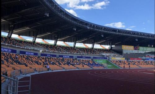 Stadion Atletik New Clark City. Foto: GMA News Online