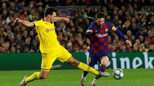 Barcelona vs Borussia Dortmund
