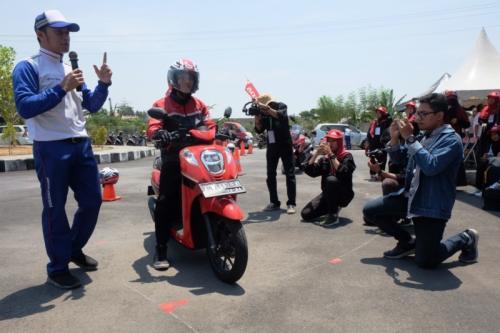 Pembuatan film pendek safety riding