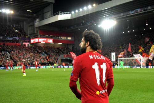 Suasana laga Liverpool vs Napoli