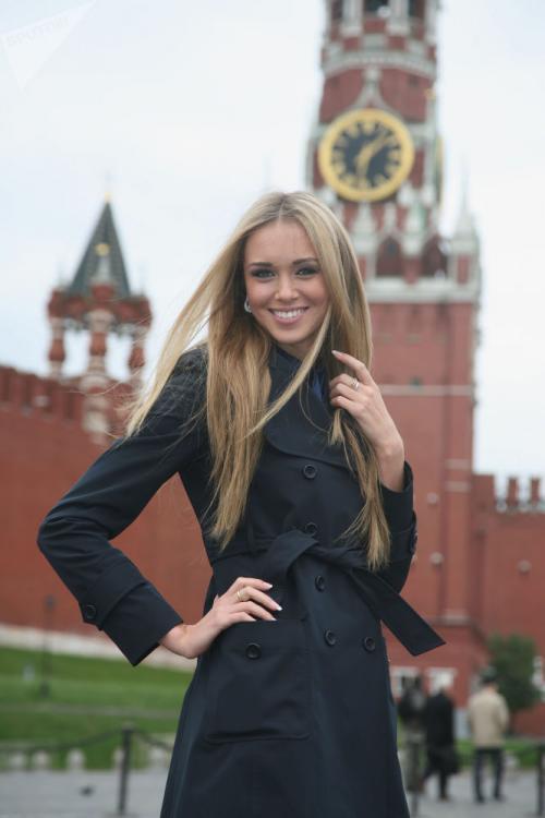 Miss Rusia pada tahun 2007 dan Miss World 2008. Sukhinova adalah seorang model dan presenter televisi.