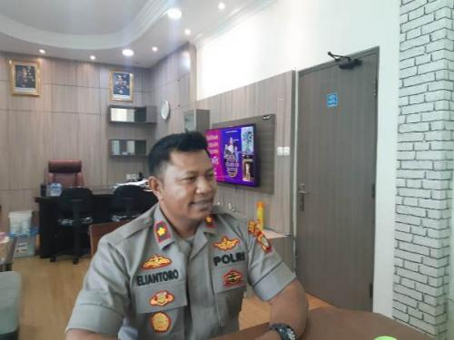 Kapolsek Sawah Besar Kompol Eliantoro Jalmaf (Foto : Okezone.com/Fadel Prayoga)