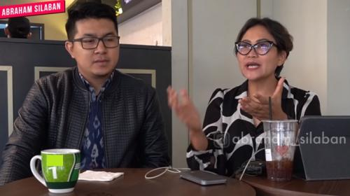 Agnez Mo dinilai pakar gestur mengatakan fakta tentang darah yang mengalir di tubuhnya. (Foto: YouTube/Abraham Silaban)