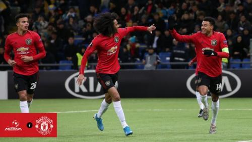 Astana vs Manchester United