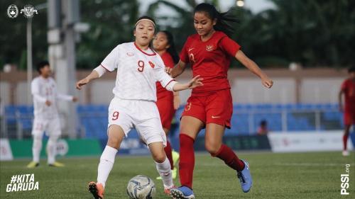 Timnas Putri Indonesia vs Vietnam (Foto: Twitter/@PSSI)