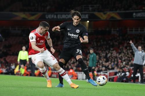 Arsenal tumbang 1-2 di tangan Eintracht Frankfurt (Foto: UEFA)
