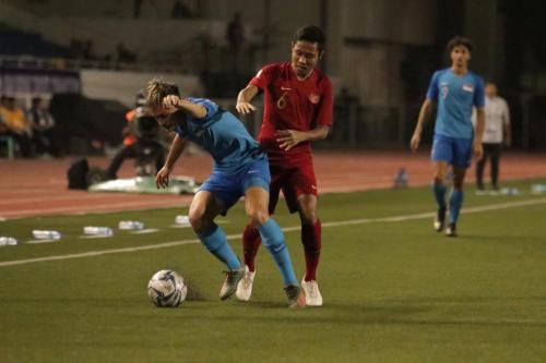 Timnas Indonesia U-22 vs Singapura