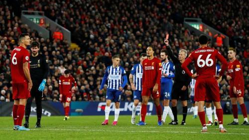 Liverpool vs Birghton and Hove Albion