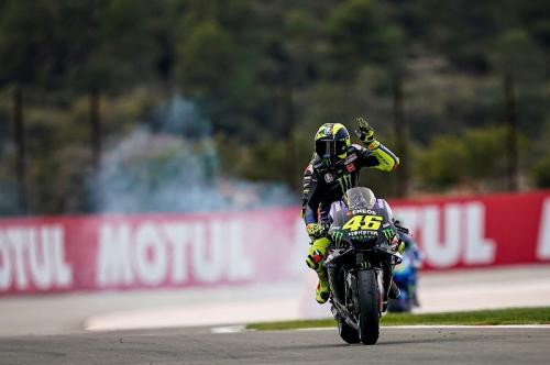 Valentino Rossi melaju di Sirkuit Ricardo Tormo, Valencia (Foto: Yamaha MotoGP)