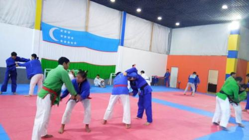 Kurash latihan (Foto: Istimewa)