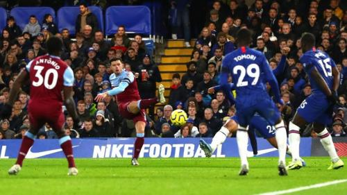 Aaron Cresswell mencetak gol tunggal di laga tersebut (Foto: Premier League)
