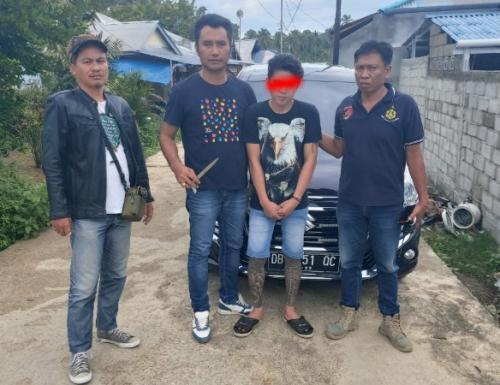 Polisi tangkap pelaku pembunuhan terhadap petugas SPBU, Kalvin Kerap (25). (Ist)