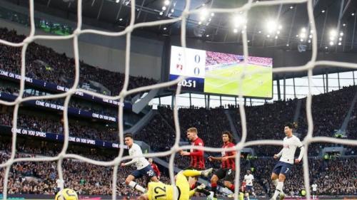 Dele Alli mencetak gol pertama buat Tottenham Hotspur di laga tersebut (Foto: Reuters)