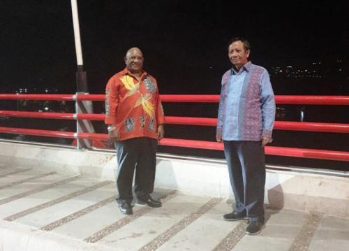 Mahfud MD di Papua