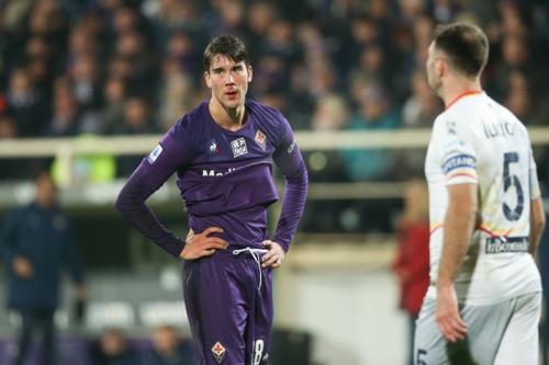 Fiorentina harus rela menelan kekalahan dari Lecce (Foto: Twitter/Fiorentina)