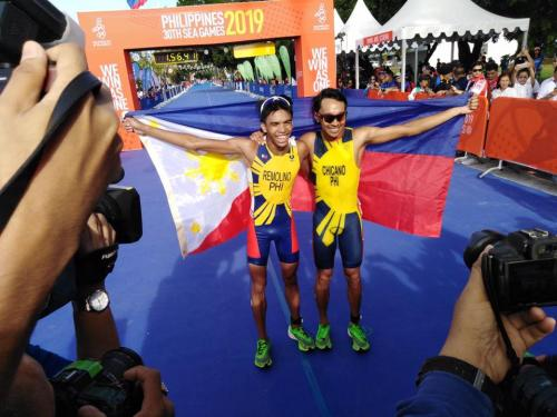Cabor Triathlon di SEA Games 2019