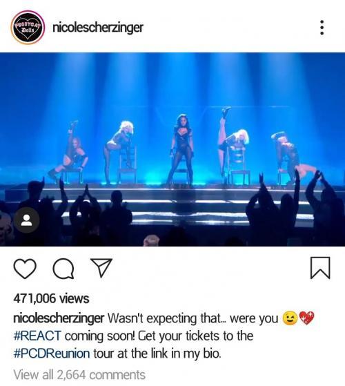 Nichole Scherzinger tampak tak memedulikan kritikan publik atas penampilan mereka. (Foto: Instagram/@nicolescherzinger)