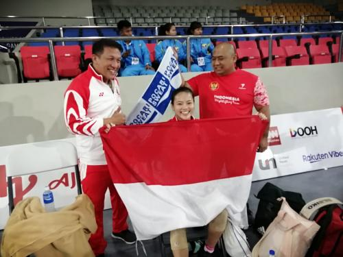 Windy Cantika Aisah (Foto: SEA Games 2019)