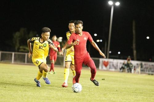 Timnas Indonesia U-22 vs Brunei