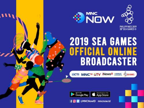 SEA Games 2019 Filipina Bisa Ditonton via MNC Now