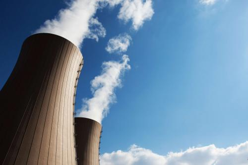 Teknologi nuklir dinilai mampu memberikan output energi yang besar.
