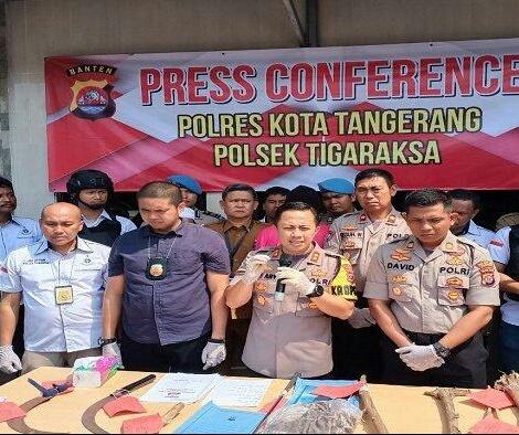 Polisi merilis kasus tawuran