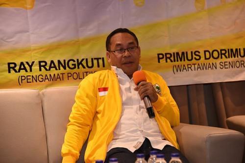 Jubir Munas Golkar Sebastian Salang (Foto : Istimewa)