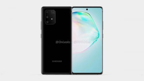 Samsung Galaxy A91 muncul dalam gambar render CAD yang tidak resmi.