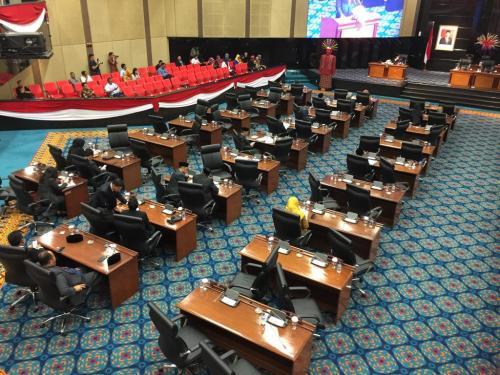 DPRD DKI Jakarta Foto Fadel Prayoga