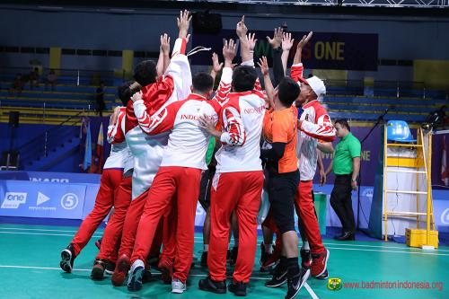 Tim Bulu tangkis Indonesia di SEA Games 2019